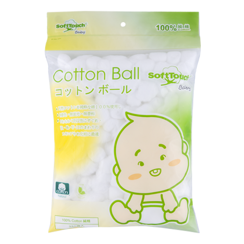 Soft Touch 脫脂棉花球 4包