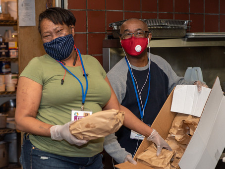 Connections for the Homeless - $20,000 to help w/ food + stimulating the economy, shelter, & PPE.