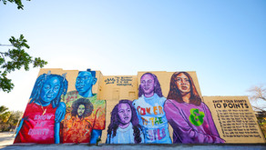 New Mural Goes Up in Tampa Honoring Colin Kaepernick & Know Your Rights Camp's Activism