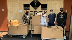 Food donation and delivery to Mercy Medical Center