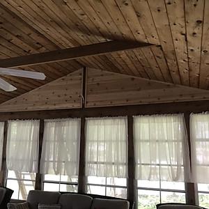 Linthicum Cedar and Siding Install
