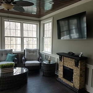 Screened-in Porch Remodel