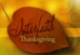 Interfaith Thanksgiving Service