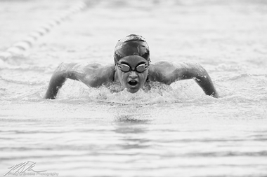 Swimmer at Central Florida Community College, Ocala
