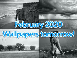 February calendars will post tomorrow morning