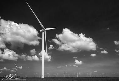 Wind farm #2, Paxton, Illinois, June 2018