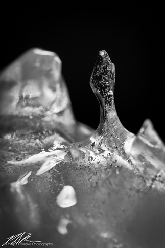 Melting ice #1, August 2017