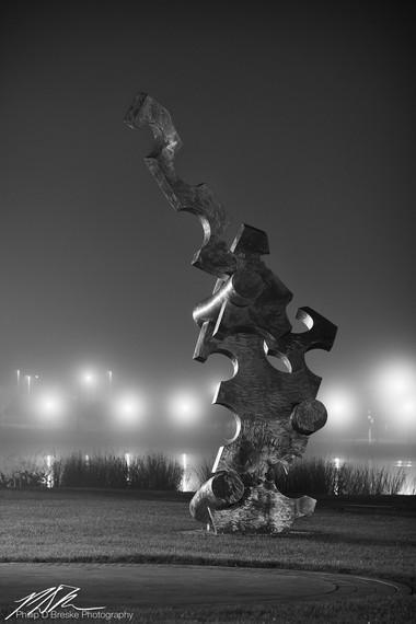 """Navigator"" at Tuscawilla Art Park, Ocala"