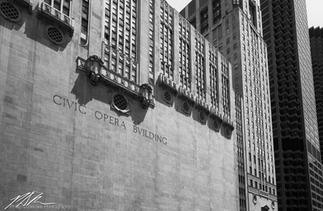 Chicago's Civic Opera Building #1, June 2018