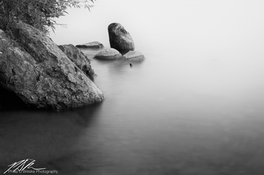 Shoreline rocks at Lake Bemidji #2, Minnesota, June 2018