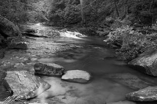 Falling Water Creek near Walden, Tennessee, June 2018