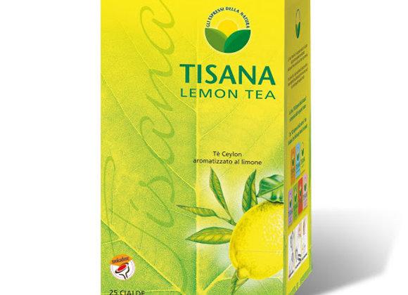 25 cialde Tisana Molinari té a limone