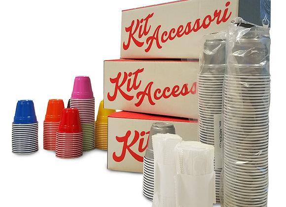 Kit Accessori neutri 150 pz