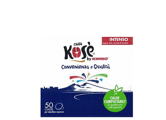 Caffè Kosè - CIALDA ESE- MISCELA INTENSO- CONFEZIONE 50