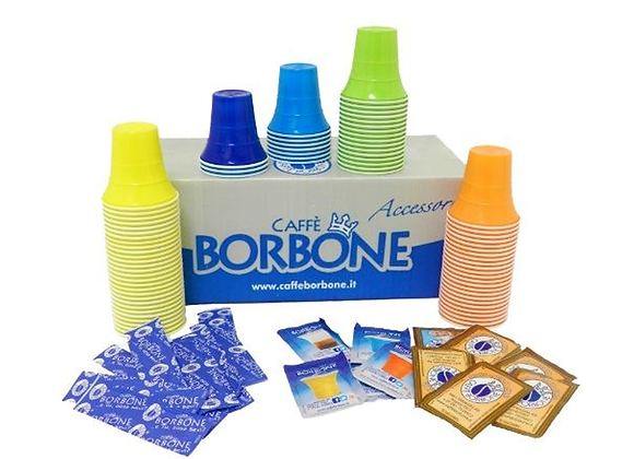 Kit Accessori Caffè Borbone 150 pz