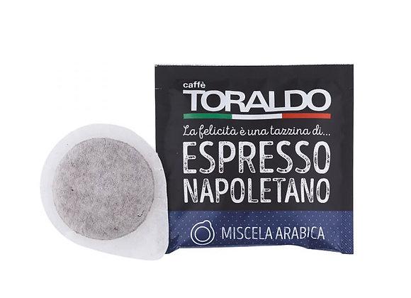 Caffè TORALDO -CIALDA ESE- MISCELA ARABICA- CONFEZIONE 150