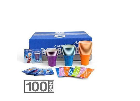 KIt Accessori Caffè Borbone 100 pezzi