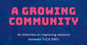 A Growing Community:  SWU x TUJ (Interview)
