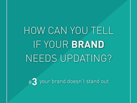 Your brand doesn't stand out!