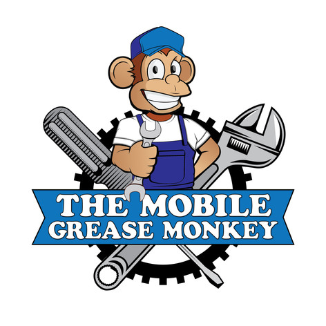 Logo Design for The Mobile Grease Monkey