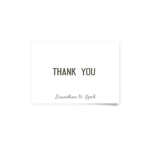 City Scene - Thank You Cards
