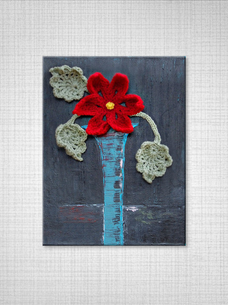 170 red flower on wall2.jpg