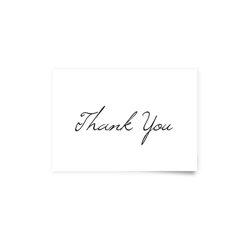 Blooms - Thank You Cards