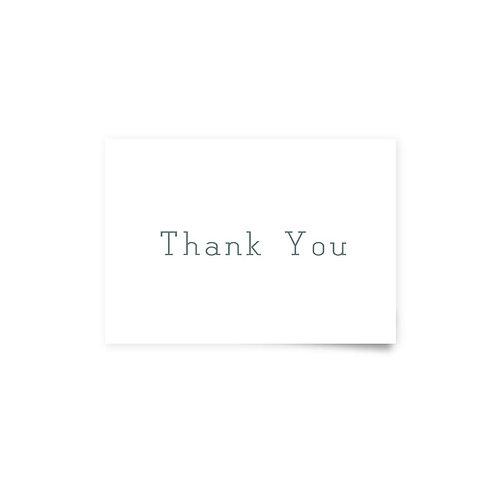Spiral Bound - Thank You Cards