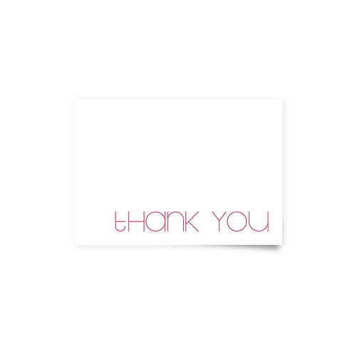 Flower Fields - Thank You Cards