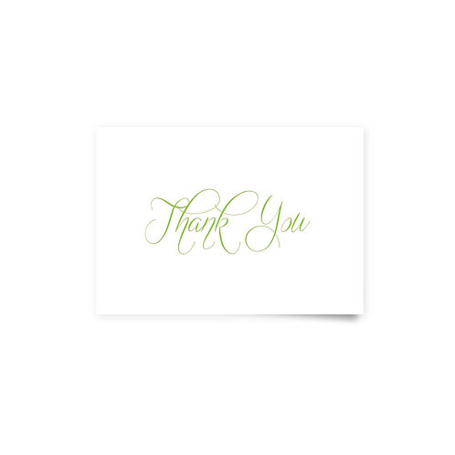Vine Border - Thank You Cards
