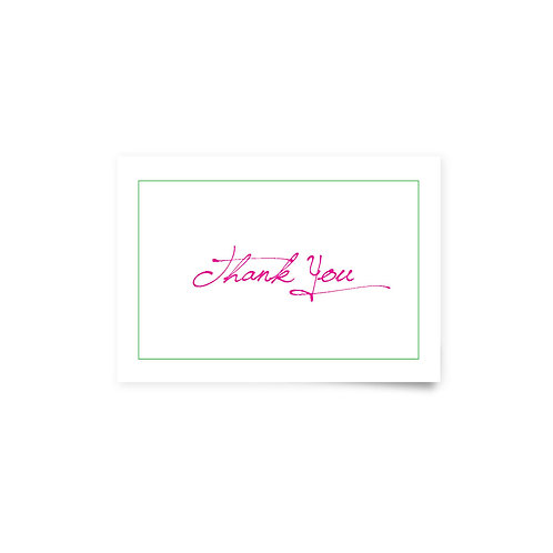Distressed Wood - Thank You Cards
