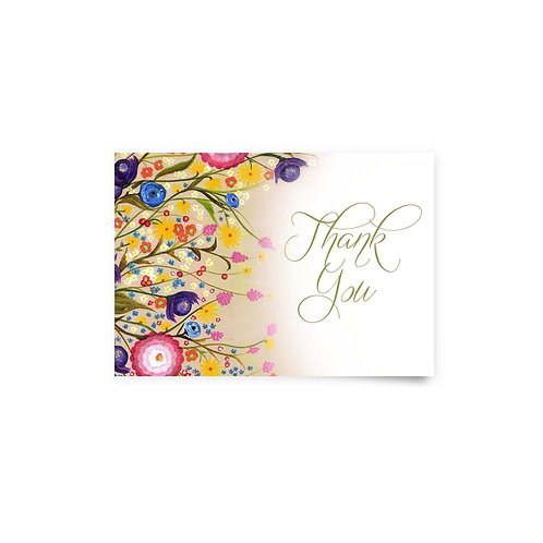 Wildflowers - Thank You Cards