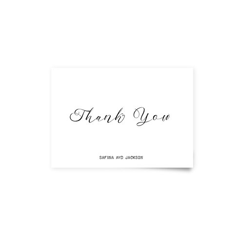 Forest - Thank You Cards