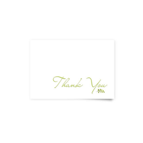 Under the Tree - Thank You Cards