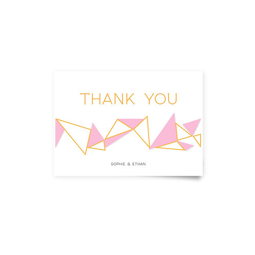 Geo 2 - Thank You Cards