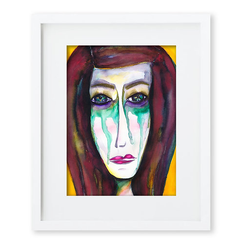 Watercolor Face Series 3