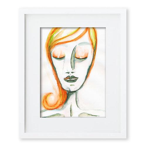 Watercolor Face Series 4