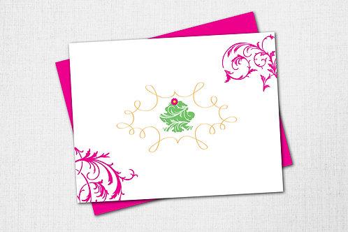 Garden Note Card - Frog