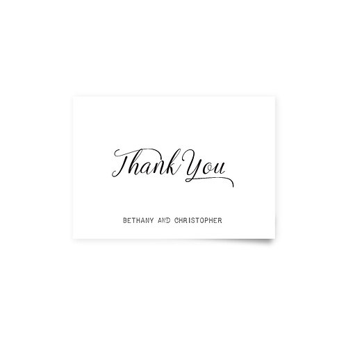 Ocean - Thank You Cards