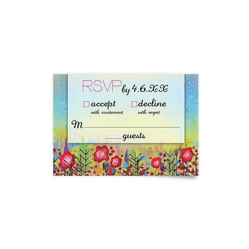 Flower Fields - RSVP