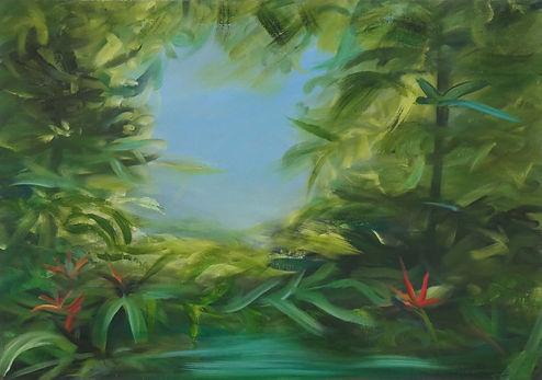 ADele Gibson - Tropical garden.jpg