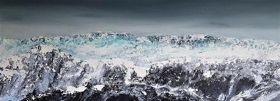 wahlengergbreen glacier painting panarama.jpg