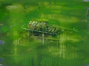 Barbara Howey: Flooded fracking pad