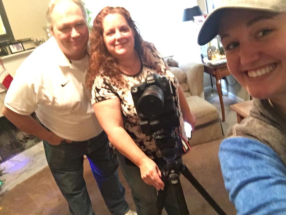 Bob, Karina, Kaitlyn Winey