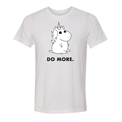 """""""Unicorn"""" Unisex White T-Shirt"""