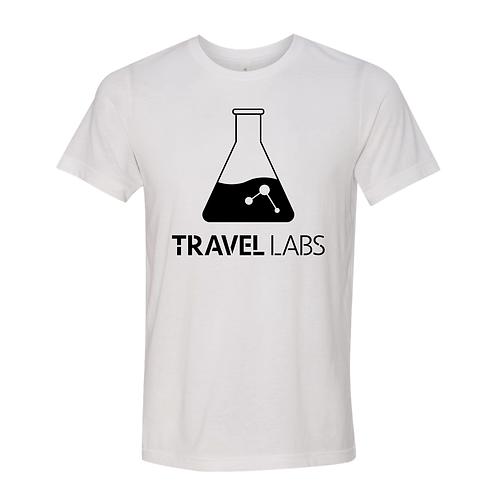 """Travel Labs"" Unisex White T-Shirt"