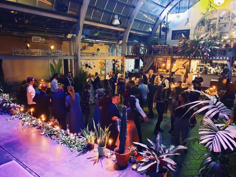 Aimie & Christian's wedding at BAaD Glasgow