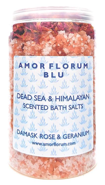 Himalayan & Dead SEA Bath Salts - Citrus & Green Tea - 400g
