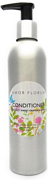 Natural HAIR CONDITIONER - SWEET ORANGE & LEMON - 250ml