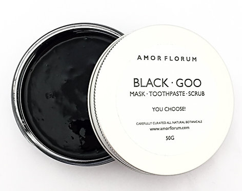 BLACK GOO - ACTIVATED CHARCOAL AND SODIUM BICARBONATE CLEANING PASTE - 50g